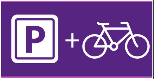 Parking incl. 3 bikes