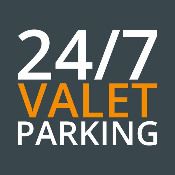 24/7 VALET Parking